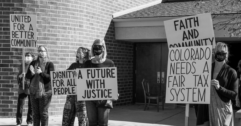 Colorado needs a fair tax system sign
